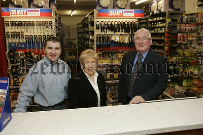 Giv Ran manager Martin McGivern pictured with founders of the  company Peggy and Eamon McGivern. 07W4N6