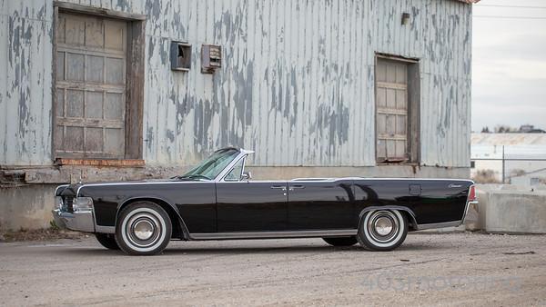 '65 Lincoln Continental - Black