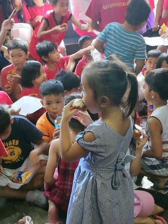 PBC Christmas Party For 1oo Children