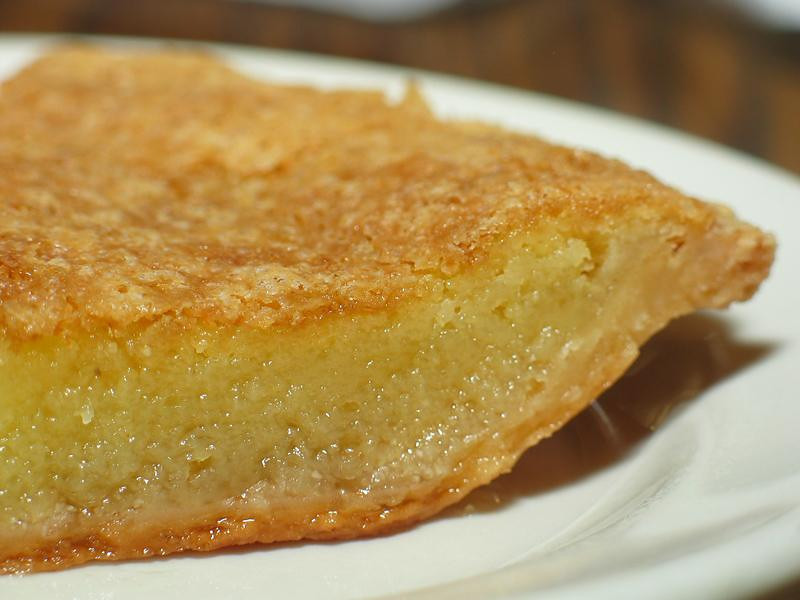. Slice of Chess Pie