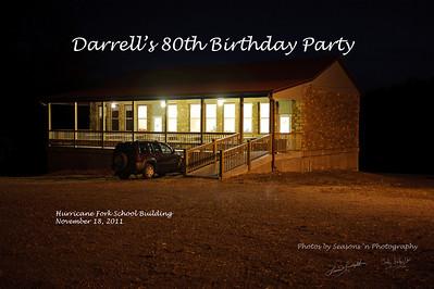 2011 11 18 Darrell's 80th  Birthday