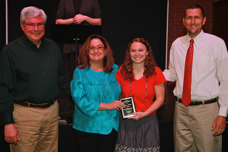 Pamela Darnell Christian Mission Award: Erin Pitts