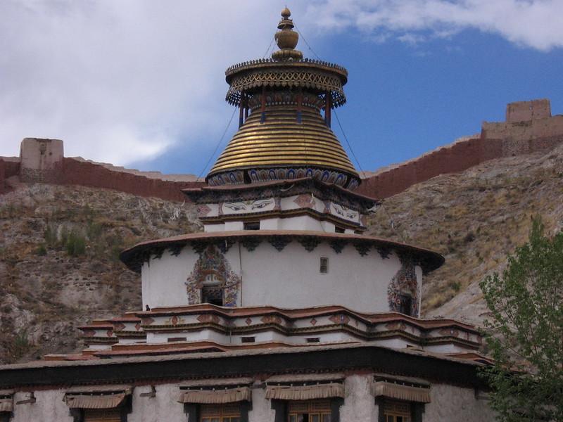 The 'Khumbu' at Gyanste