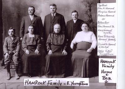 Misc. Genealogy Photos-Hamrock Family Tree