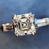 1.17ct Asscher Cut Diamond Tacori Solitaire, GIA G, VS2 4
