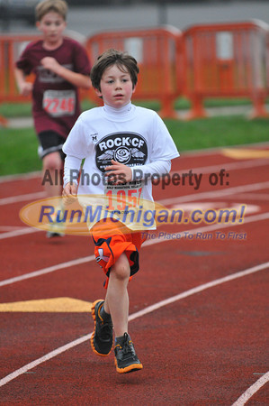5K Finishers - 2012 Rock CF Half Marathon and 5K