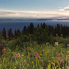 Kennebec Pass Sunrise Panorama