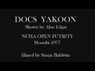 DOCS YAKOON shown by Alan Edgar.