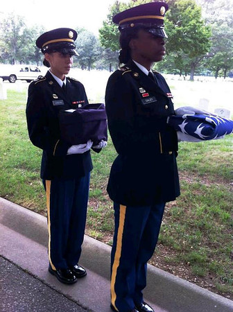Ward & Elizabeth Miller Military Honors 8-19-11