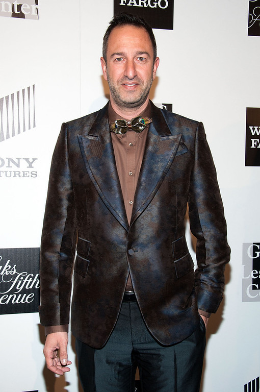 ". Christos Garkinos arrives at ""An Evening\"" Benefiting The L.A. Gay & Lesbian Center at the Beverly Wilshire Four Seasons Hotel on March 21, 2013 in Beverly Hills, California. (Photo by Valerie Macon/Getty Images)"