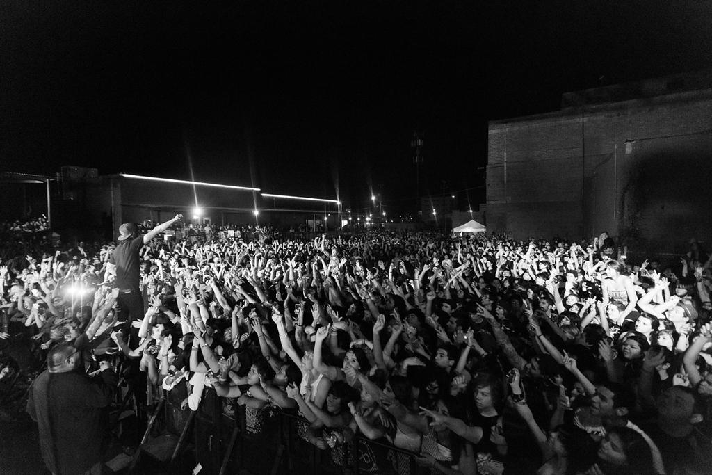 Pierce The Veil at Backstage Live in San Antonio, Texas