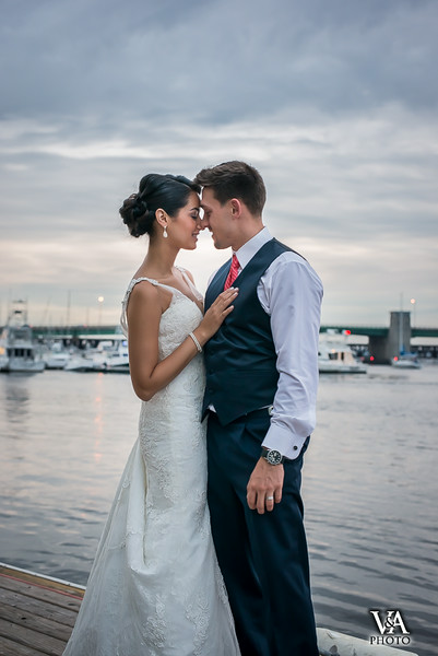 Phoenix Room Wedding, Newburyport: Alexira & Joe