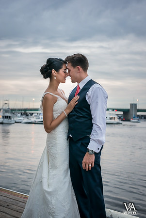 Phoenix Room Wedding, Newburyport: Alexira & Joe