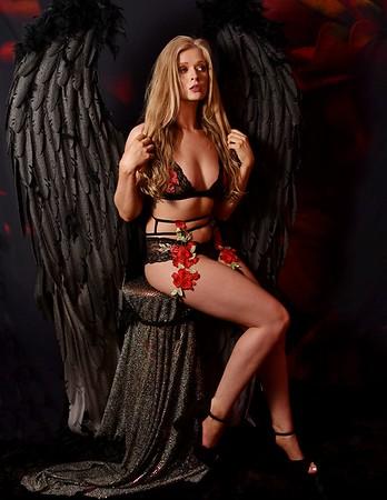 Victoria Secret Angel Black Wings