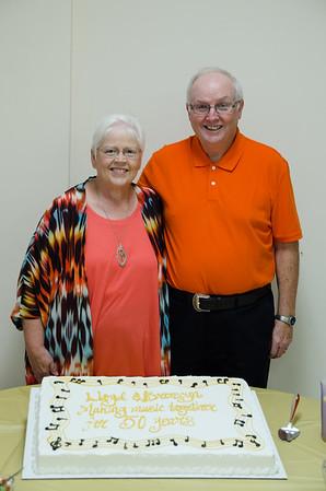 The Jones 50th Wedding Anniversary party