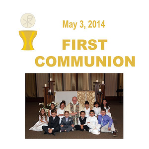 First Communion 2014 - St. Thomas More Newman Parish