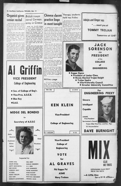 The Trojan, Vol. 35, No. 175, October 11, 1944