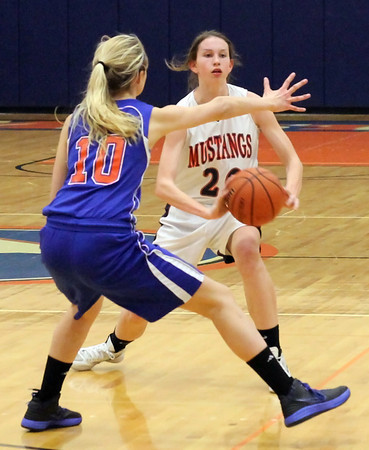 Penn Yan girls BB 2-17-12