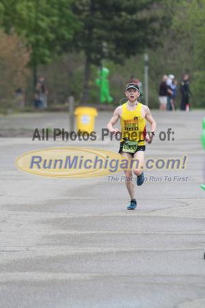 Half Marathon Finish - 2012 Martian Invasion of Races