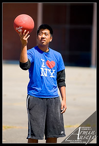 Kickball and Seattle Center, 7-2-06