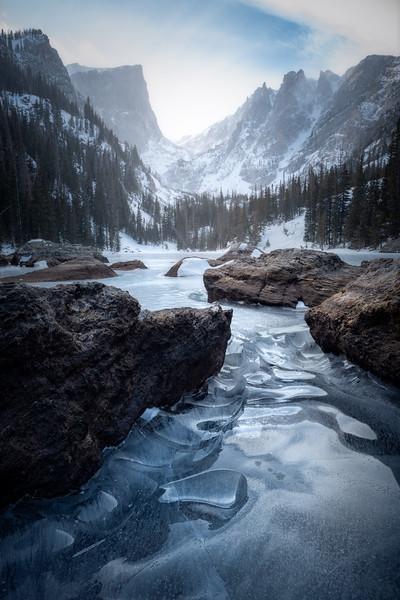 Winter Glass || Dream Lake