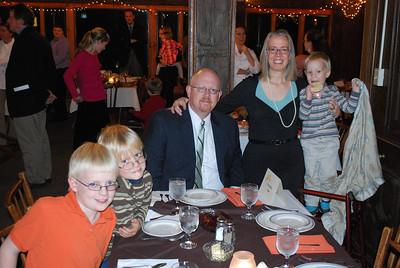 Thanksgiving Dinner - November 2011