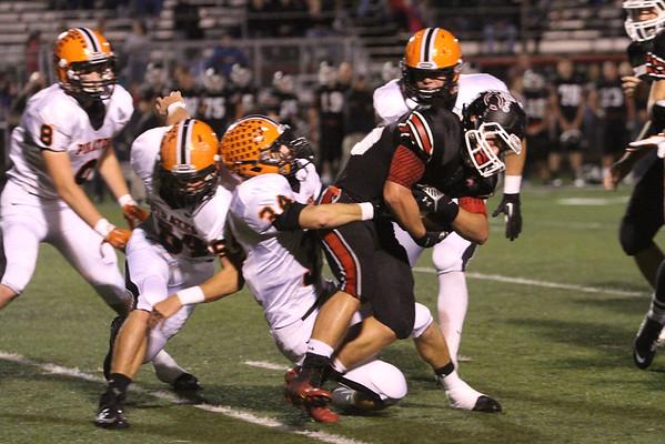 06 Football:  Wheelersburg at Dawson-Bryant 2014