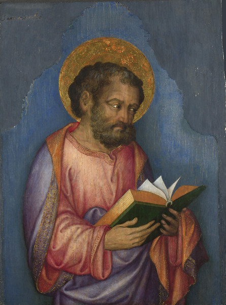 A Saint with a Book