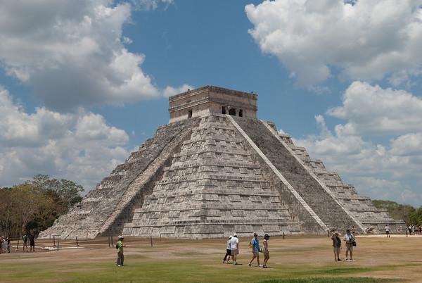 Maya Ruins at Chichen Itza, Mexico