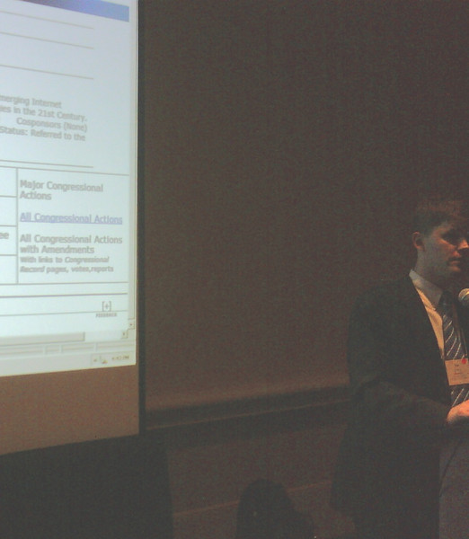 Eric Bridges, Director of Advocacy and Governmental Relations, ACB.