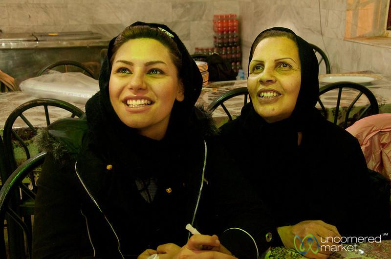 Iranian Mother and Daughter - Kermanshah, Iran