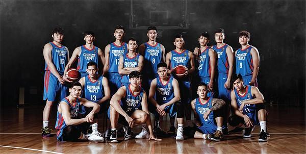 中華男籃亞洲盃資格賽視覺