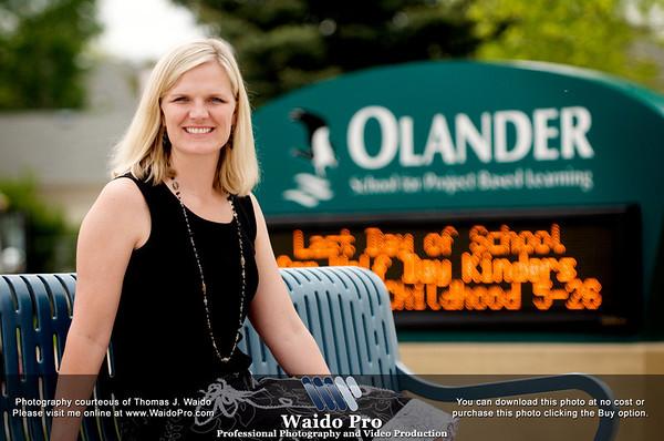 2010 Olander Principal Anna Waido