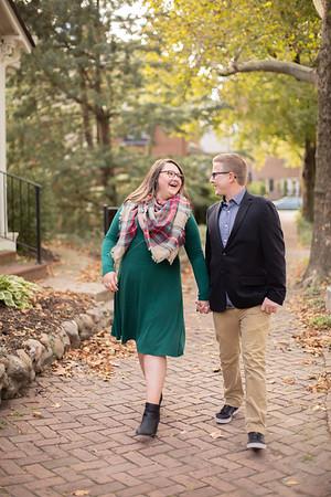 Melanie and AJ Engagement