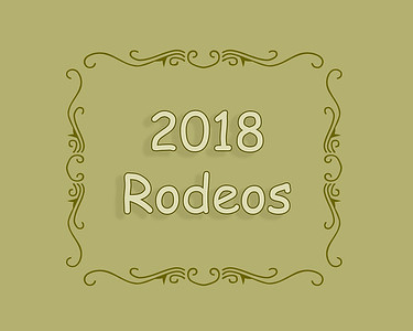 2018 Rodeos