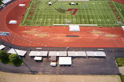2019 UWL WIAA State Track Roger Harring Field Facilities Aerials