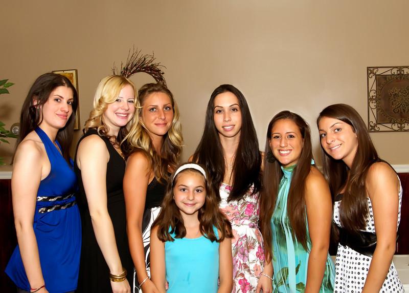 Amanda'a Bridal Party