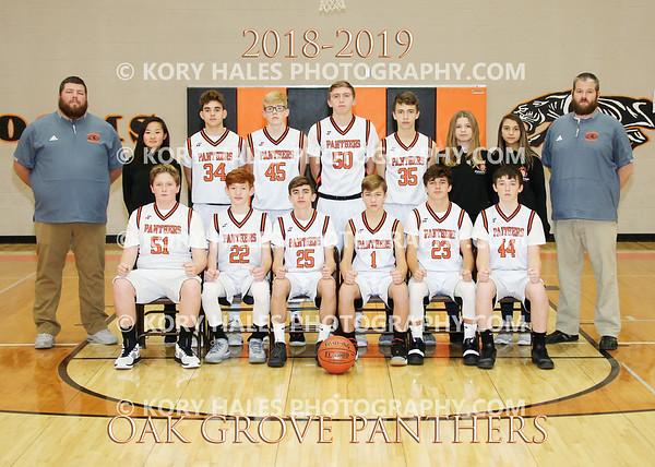 2018-2019 OGMS Boys Basketball