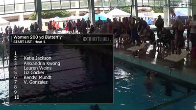 E37 Women's 200 yd Butterfly