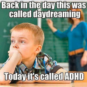 Man - ain't that SOOOO TRUE!!  How many kids that have been labeled ADHD are just SOOOO evolved that they KNOW what they're being told is b.s. & a waste of their time????!!!  How many of those kids are out of the box thinkers - more creative - NOT Sheeple?????