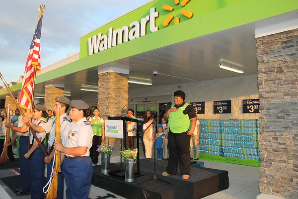 Walmart Ribbon Cutting