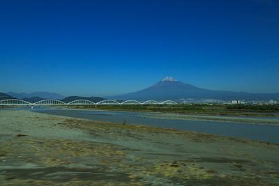 2019-11 Mount Fuji from Shinkansen