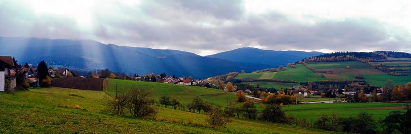 Bavarian autumn landscape