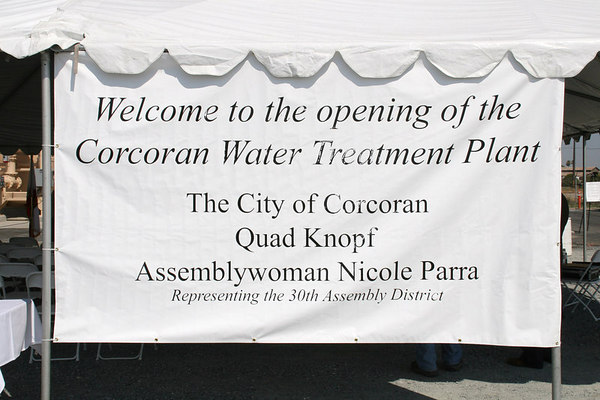 Corcoran Water Treatment Plant Grand Opening