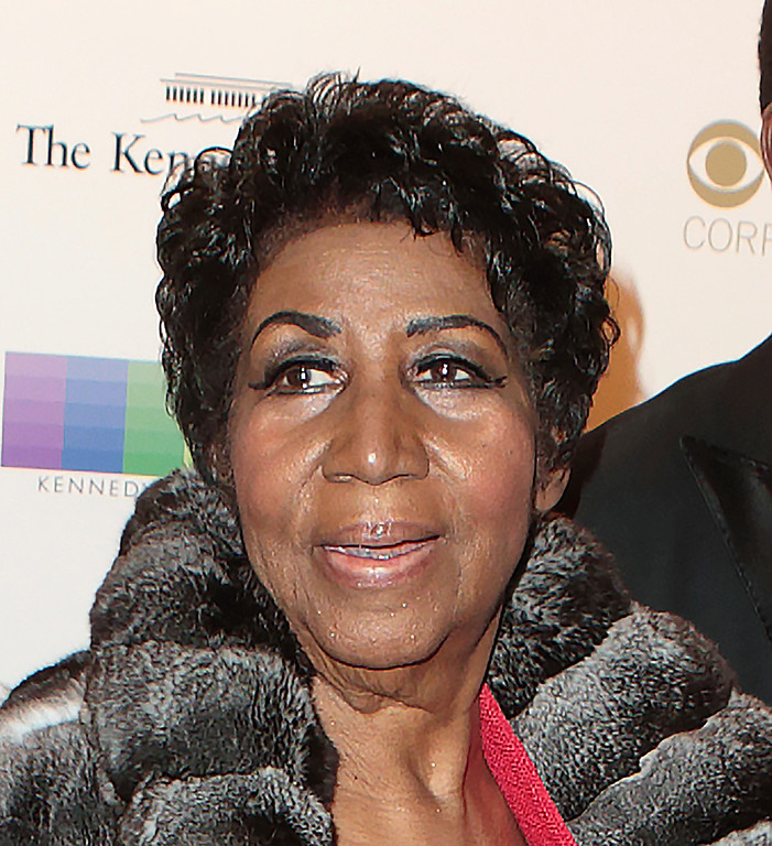. Aretha Franklin attends the 39th Annual Kennedy Center Honors at The John F. Kennedy Center for the Performing Arts on Sunday, Dec. 4, 2016, in Washington, D.C. (Photo by Owen Sweeney/Invision/AP)