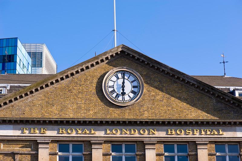 The Royal London Hospital, E1, London, United Kingdom