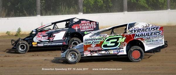 Brewerton Speedway - 6/16/17 - Rick Young