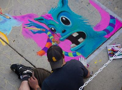 2011 Salt Lake City Chalk Art