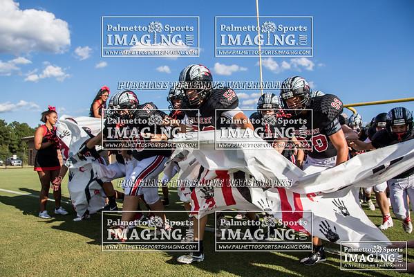 8-31-2018 Gilbert JV Football vs Lexington