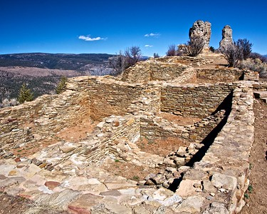 Chimney Rock National Monument Hike, Feb 25